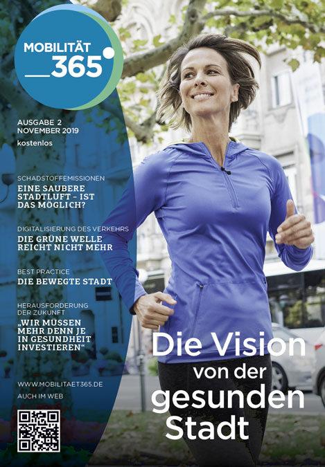 Cover Mobilitätszeitung Nr. 2 Thema Gesundheit