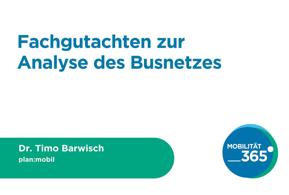 Vortrag Dr. Timo Barwisch