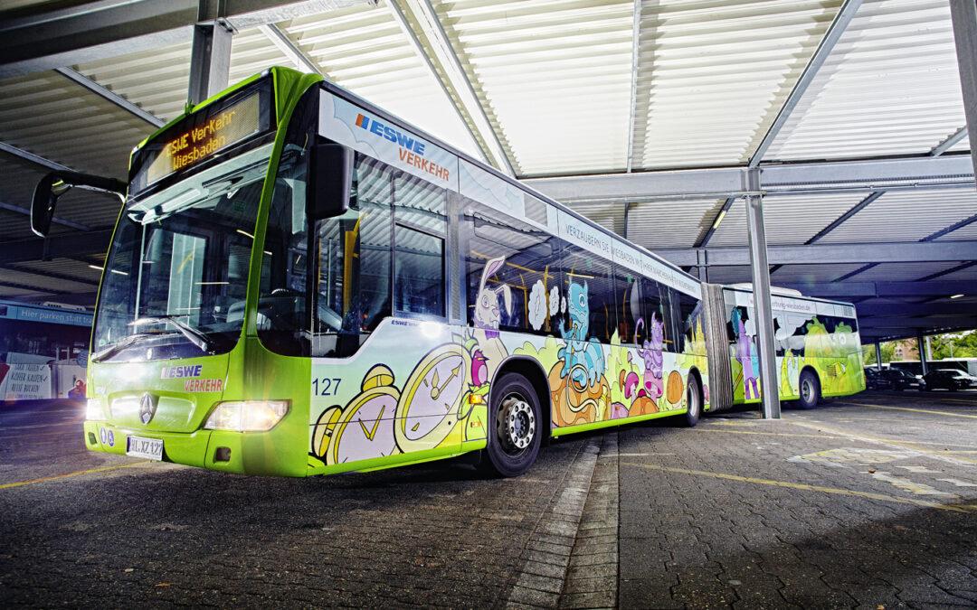 ESWE Verkehr passt  Busverkehrsangebot wegen Fahrgastrückgang an