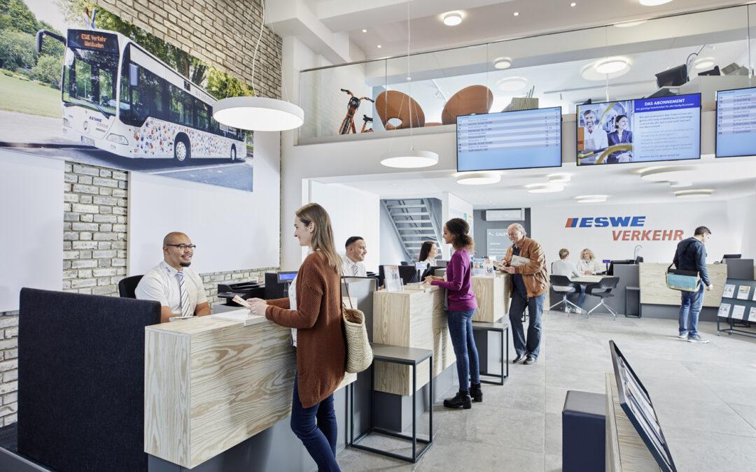 Mobilitätszentrale von ESWE Verkehr öffnet wieder