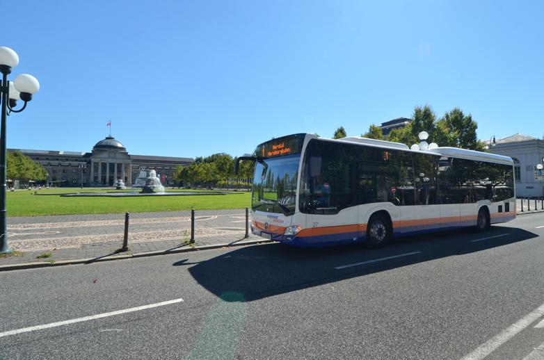 Busse von ESWE Verkehr fahren wieder häufiger