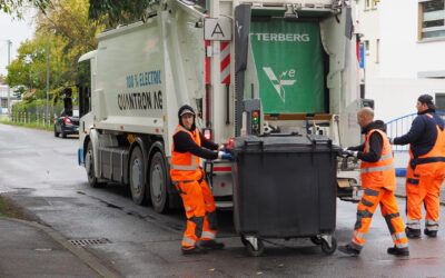 ELW testen voll elektrisch betriebenes Abfallsammelfahrzeug